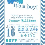 019 Baby Shower Invitation Free Templates Template Ideas Printable   Baby Shower Invitations Free Printable For A Boy