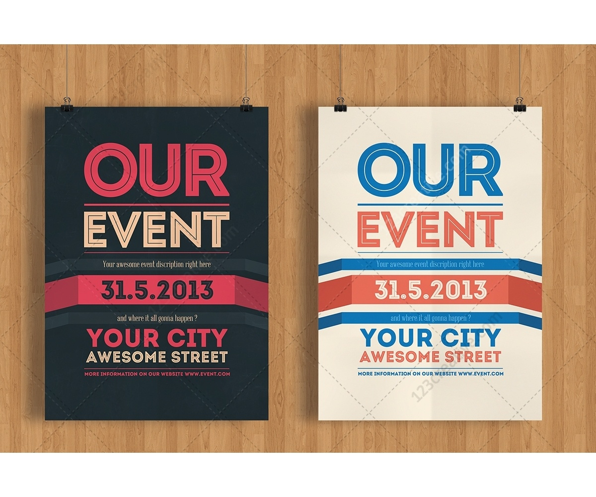 019 Template Ideas Event Poster Templates Free Download Powerpoint - Free Printable Event Flyer Templates