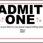 019 Template Ideas Free Movie Beautiful Ticket Printable   Free Printable Movie Tickets