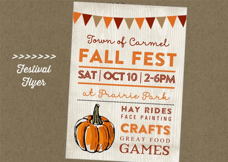020 Storyblocks Fall Festival Hand Drawn Typographic Element Fancy - Free Printable Fall Festival Flyer Templates