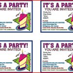 023 Free Bowling Party Invitation Templates Book Of Template Word   13Th Birthday Party Invitations Printable Free