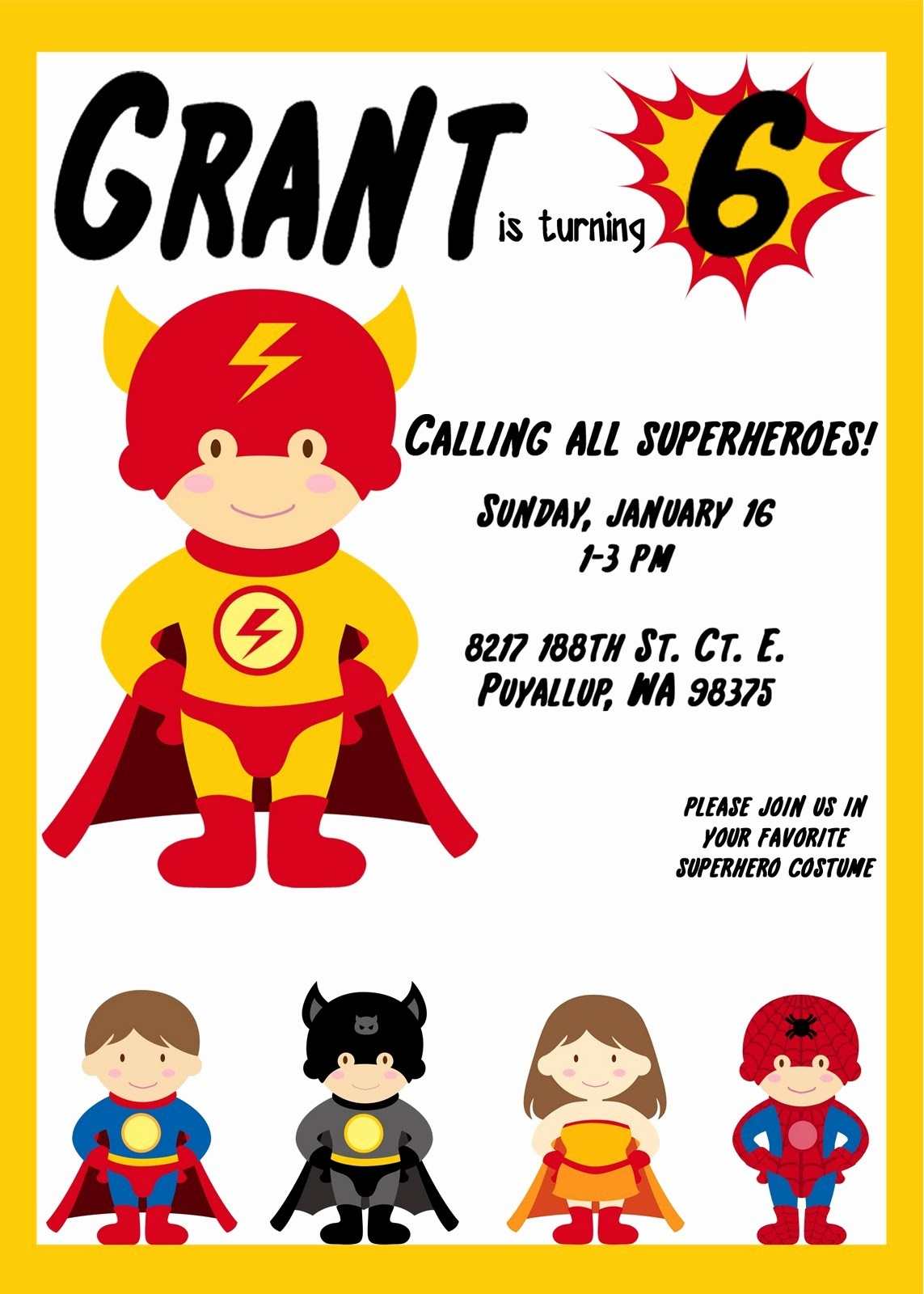 023 Superhero Invitation Template Free Ideas Elegant Birthday - Free Printable Superhero Birthday Invitation Templates