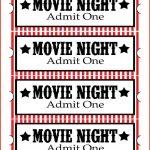 027 Ticket Invitation Template Free Ideas Printable Movie Best Admit   Free Printable Admit One Invitations
