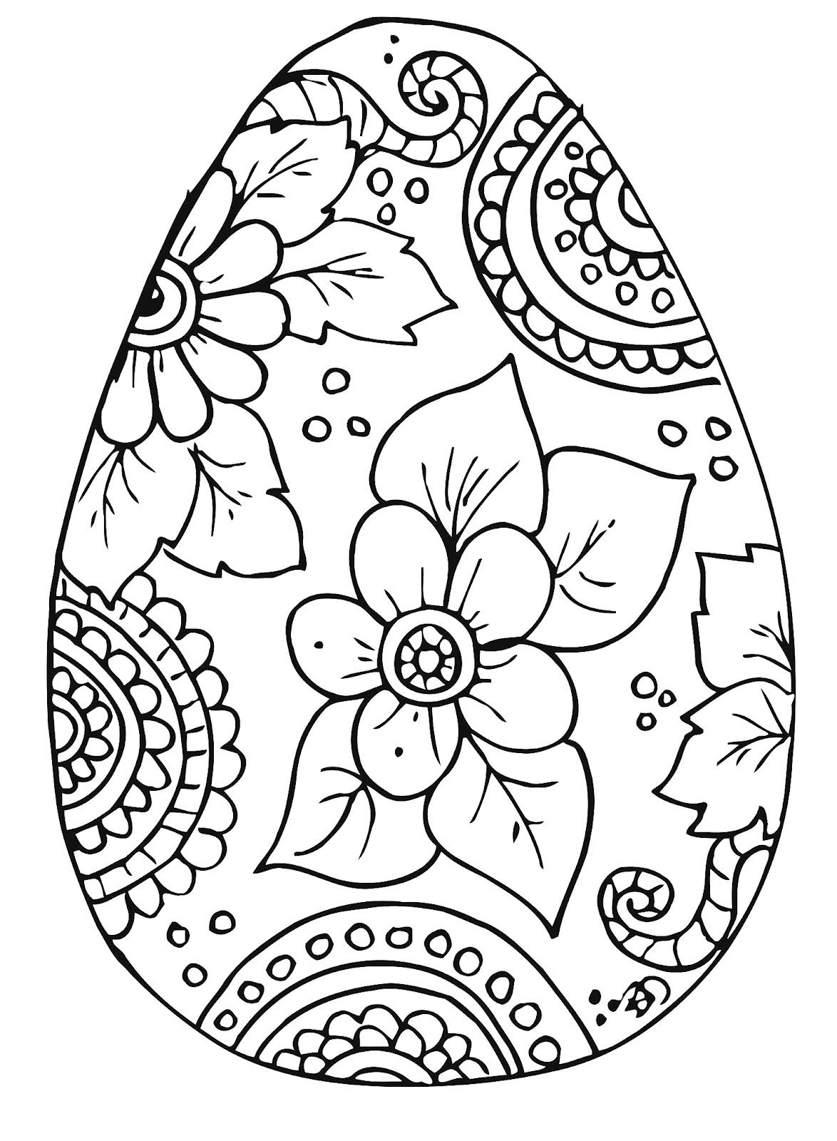 10 Cool Free Printable Easter Coloring Pages For Kids Who've Moved - Easter Coloring Pages Free Printable