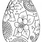 10 Cool Free Printable Easter Coloring Pages For Kids Who've Moved   Easter Egg Coloring Pages Free Printable