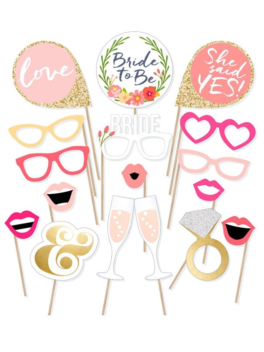 10 Easy (And Fun!) Bachelorette Printables | Bridal Shower | Bridal - Bachelorette Photo Booth Props Printable Free