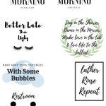 10 Free Bathroom Printables For Any Bathroom, Any Decor And It's Free!   Free Printable Bathroom Quotes