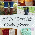 10 Free Boot Cuff Crochet Patterns Perfect For A Quick And Easy   Free Printable Crochet Patterns For Boot Cuffs
