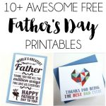 10+ Free Father's Day Printables | Dawn Nicole Designs | Fathers Day   Free Father's Day Printables