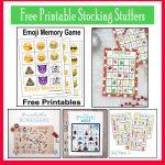 10 Free, Last Minute Printable Stocking Stuffer Games | Xmas Time   Free Printable Stocking Stuffers