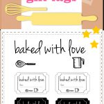 10+ Free Printable Cookie Gift Tags   Round Up | Printables & Fonts   Free Printable Baking Labels