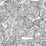 10 Free Printable Holiday Adult Coloring Pages   Free Printable Coloring Pages For March