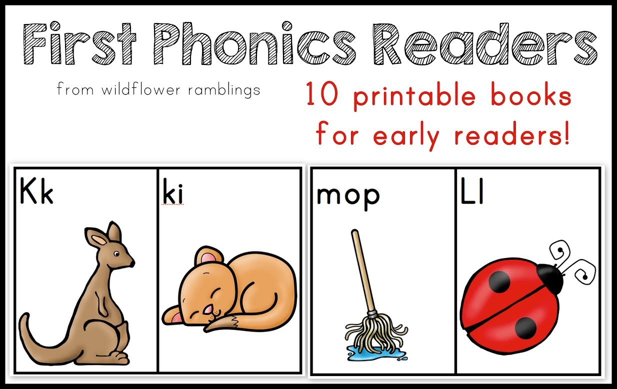 10 Phonics Readers For Early Reading - Free Printable Decodable Books For Kindergarten