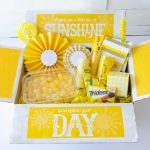 10 Things To Put In A Sunshine Boxlindi Haws Of Love The Day   Box Of Sunshine Free Printable