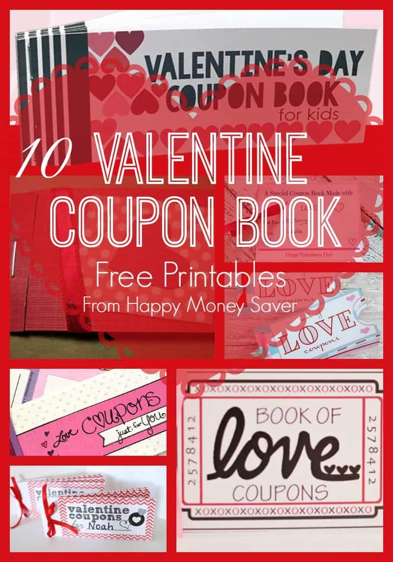 10 Valentines Day Coupon Book Free Printables! - Free Printable Valentines Day Coupons For Boyfriend