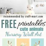 100+ Best Free Nursery Printables And Wall Art   Craft Mart   Free Nursery Printables Boy