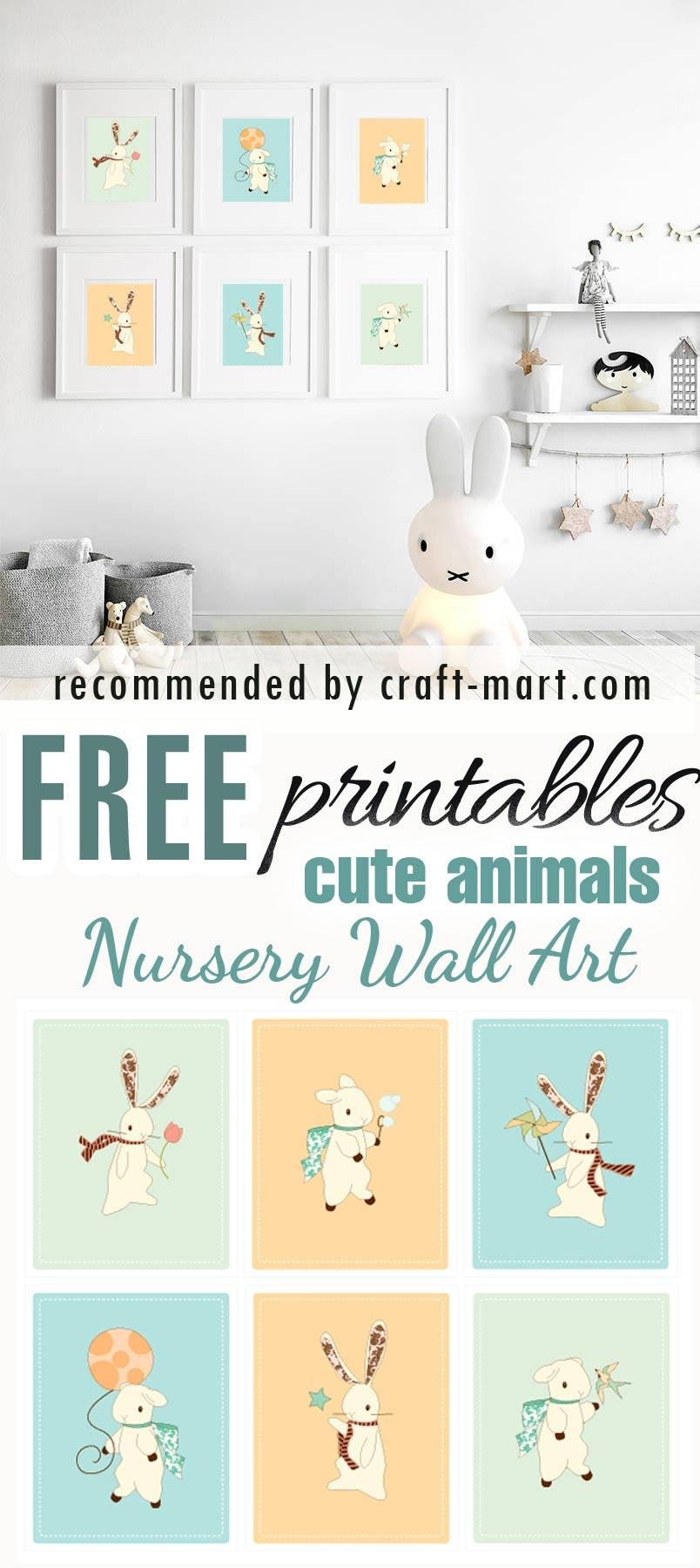 100+ Best Free Nursery Printables And Wall Art - Craft-Mart - Free Nursery Printables Boy
