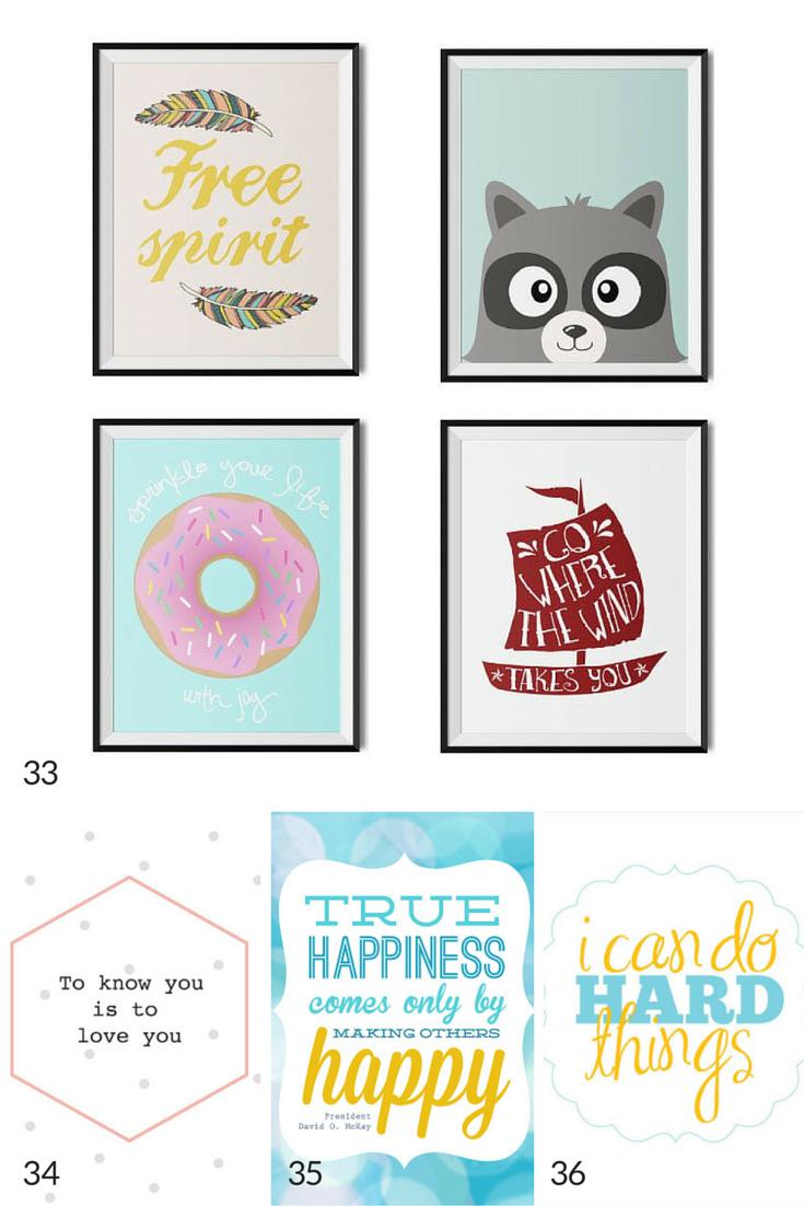 100 Free Nursery Printables That'll Look Good In Every Baby's Room - Free Nursery Printables Boy