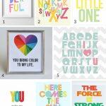 100 Free Nursery Printables That'll Look Good In Every Baby's Room   Free Nursery Printables Boy