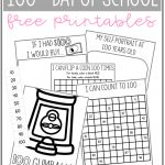 100Th Day Of School   Free Printables, Activities, And Ideas | Free   100 Days Of School Free Printables