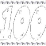 100Th Day Of School Worksheets And Printouts   100 Days Of School Free Printables