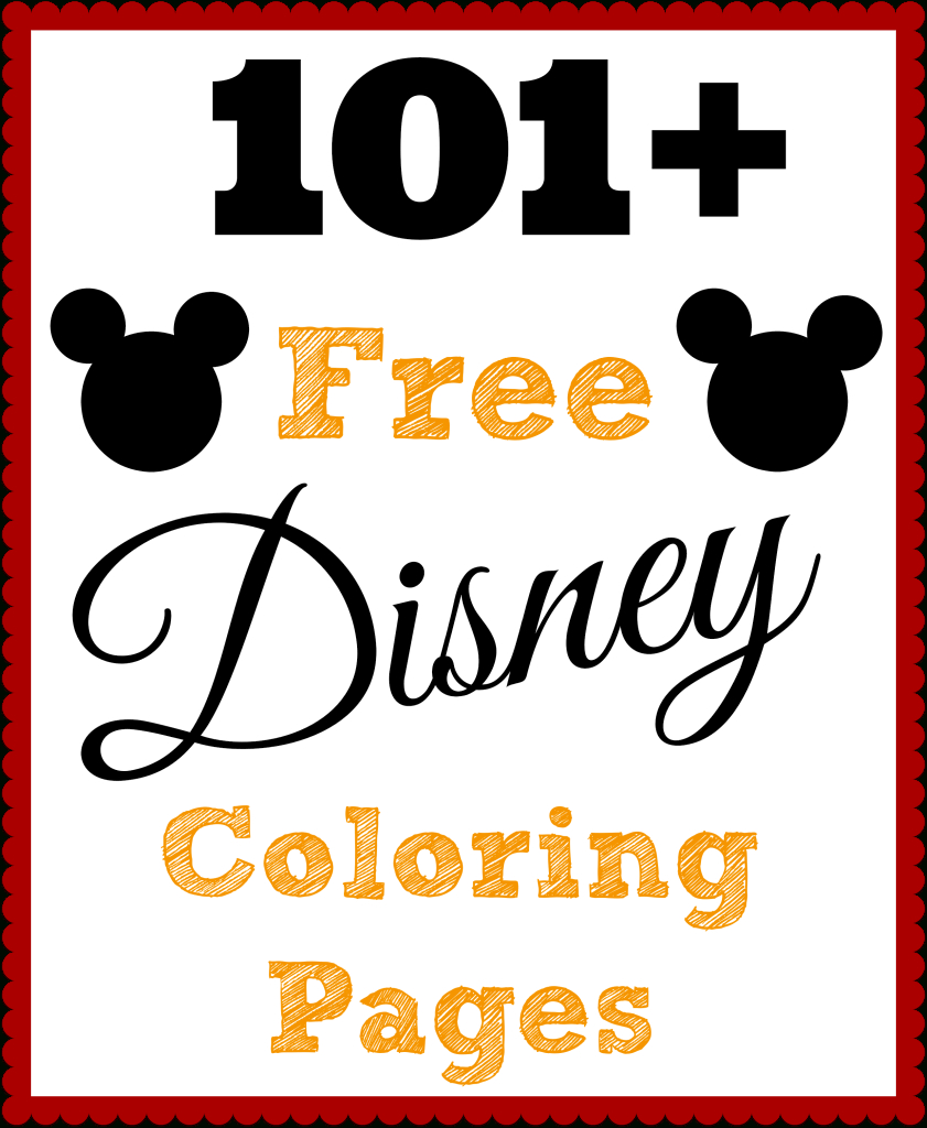101 Free Printable Disney Coloring Pages • The Diary Of A Real Housewife - Free Disney Printables