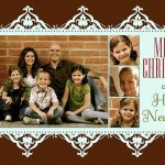 11 Free Templates For Christmas Photo Cards   Free Printable Christmas Cards With Photo Insert