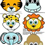 11 Ideas To Plan The Best First Birthday Bash! | Dharti | Jungle   Animal Face Masks Printable Free