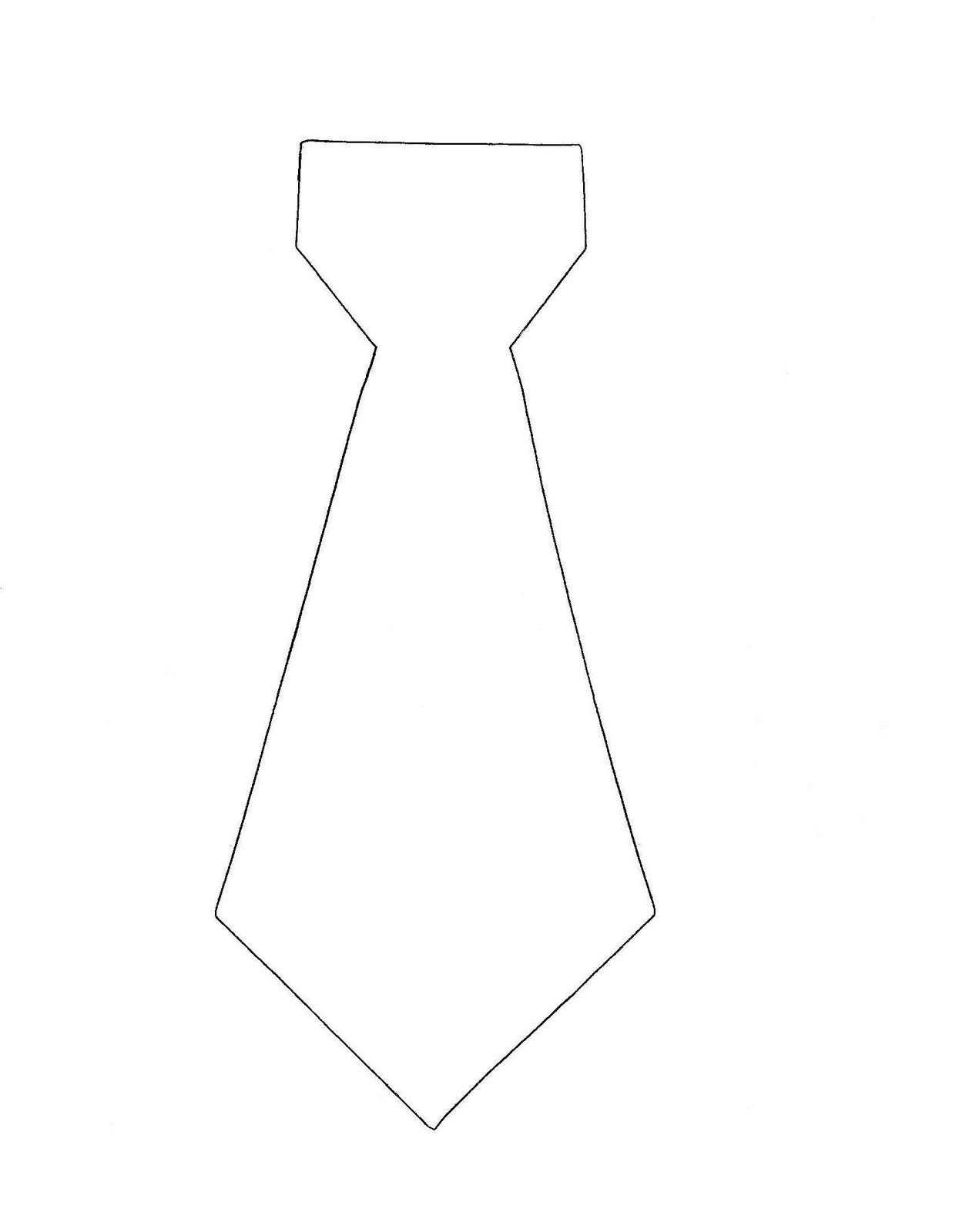 11 Images Of Free Printable Tie Template | Somaek - Free Printable Tie