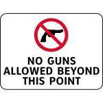 12 Best Photos Of No Gun Allowed Signage   Printable No Guns Allowed   Free Printable No Guns Allowed Sign