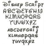 12 Disney Font Letter Stencils Images   Disney Font Alphabet Letters   Free Printable Disney Font Stencils