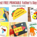 12 Free Printable Father's Day Cards   Father's Day Card Printable Free
