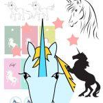 12+ Free Unicorn Printables   Einhorn   Round Up | Printables   Unicorn Name Free Printable