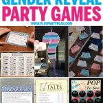 12 Of The Best Gender Reveal Party Games Ever   Play Party Plan   Free Gender Reveal Printables