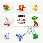 12 Spring Lego Projects For Easter Egg Hunt Or Basket   Adventure In   Free Printable Lego Instructions