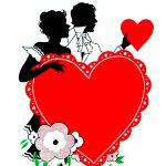 12 Vintage Valentine Silhouettes!   The Graphics Fairy   Free Printable Vintage Valentine Clip Art