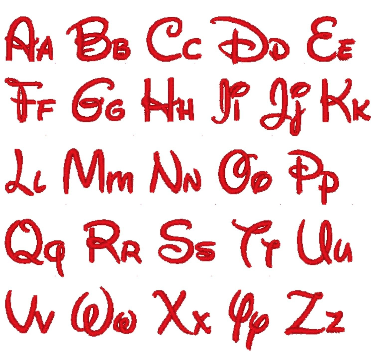 14 Lovely Disney Letter Stencils For All | Kittybabylove - Free Printable Disney Font Stencils