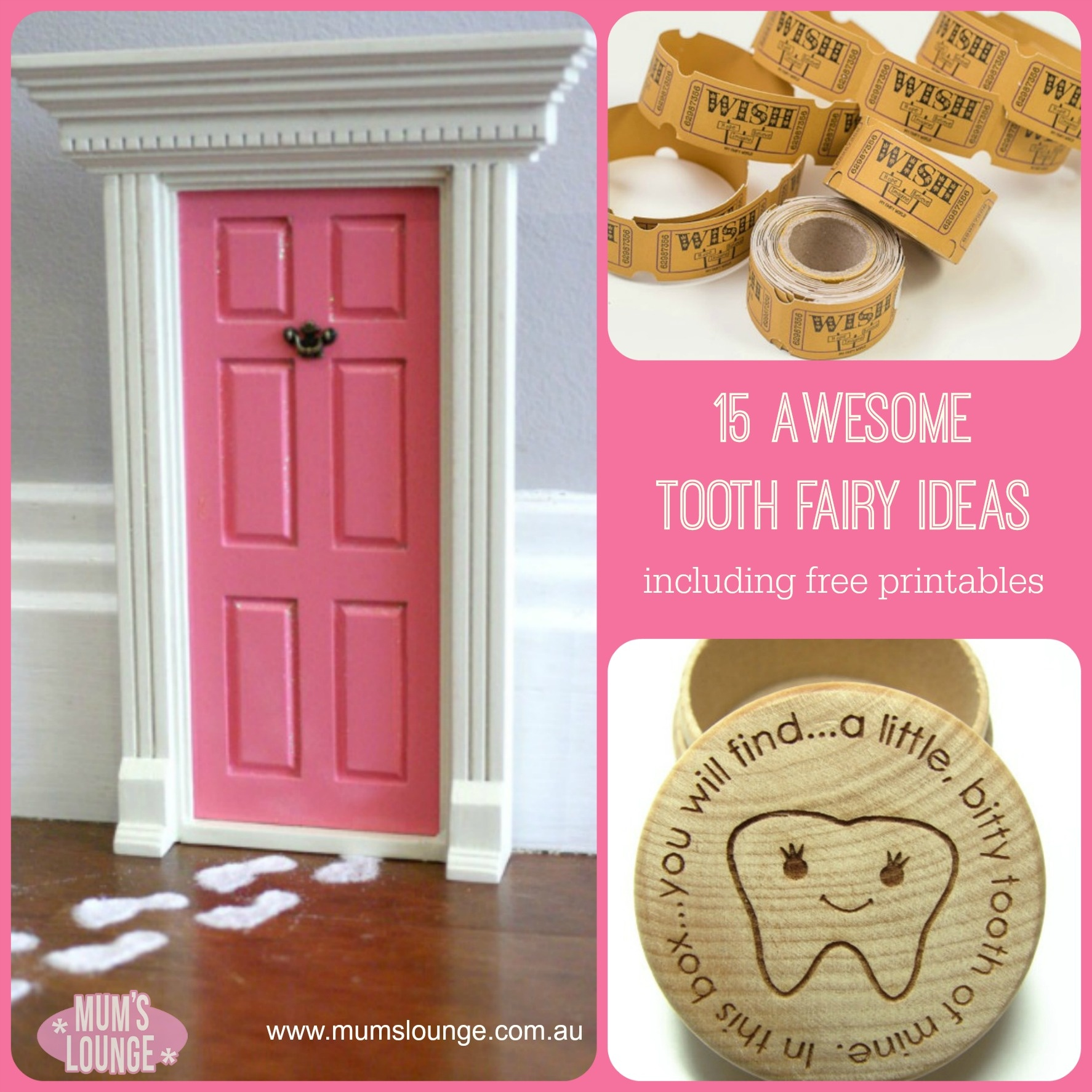 15 Awesome Tooth Fairy Ideas & Free Printables - Mum's Lounge - Tooth Fairy Stationery Free Printable