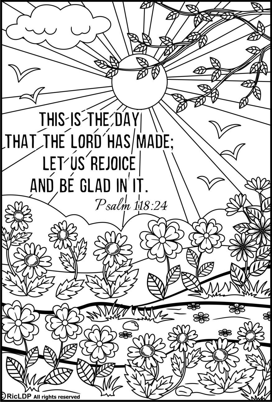 15 Bible Verses Coloring Pages   Coloring Pages   Bible Verse - Free Printable Bible Coloring Pages