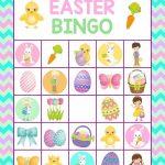 15 Fantastic Easter Bingo Cards For Merriment | Kittybabylove   Free Printable Religious Easter Bingo Cards