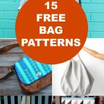 15 Free Bags Patterns | On The Cutting Floor: Printable Pdf Sewing   Handbag Patterns Free Printable