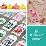 15 Free Holiday Printables To Make Gifting Easier | Babble   Free Holiday Printables