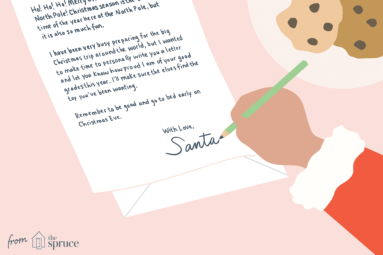 15 Free Letter From Santa Templates - Free Printable Christmas Morning Letters From Santa