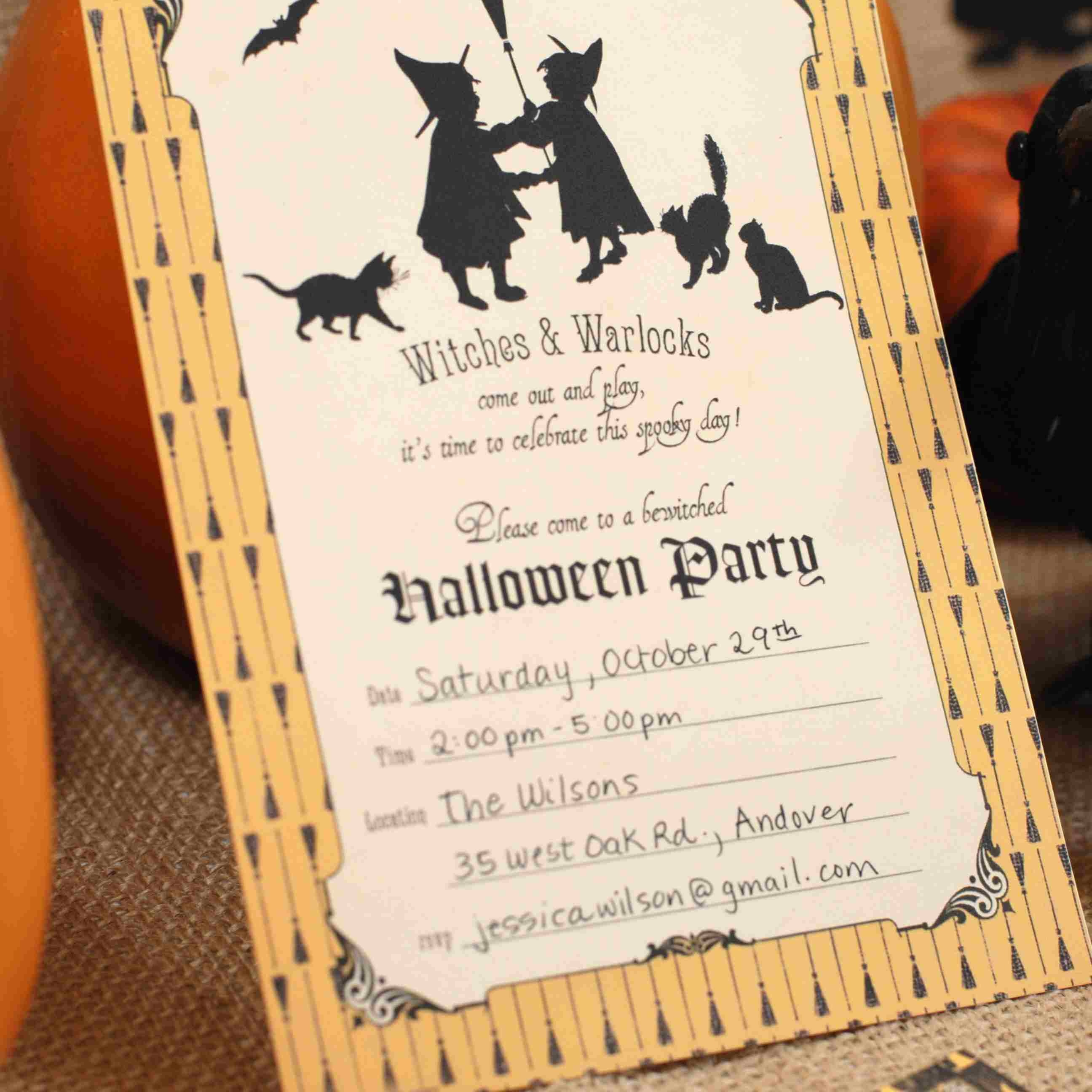 17 Free Halloween Invitations You Can Print From Home - Free Online Halloween Invitations Printable
