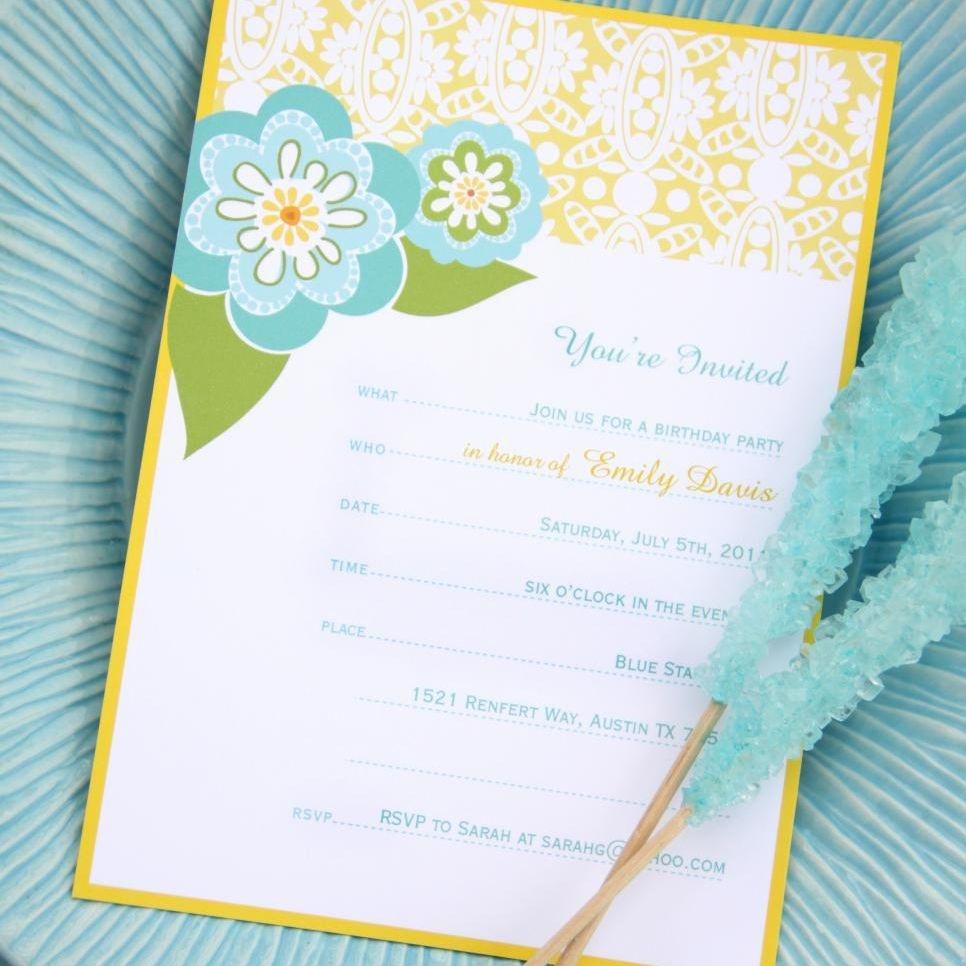 17 Free, Printable Birthday Invitations - Printable Invitations Free No Download