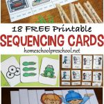 18 Free Printable Sequencing Cards For Preschoolers | Homeschool   Free Printable Sequencing Cards For Preschool