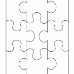 19 Printable Puzzle Piece Templates ᐅ Template Lab   Free Printable Blank Jigsaw Puzzle Pieces