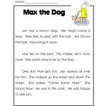 1St Grade Reading Worksheets Free. Lots More On   Free Reading Printables For 1St Grade