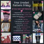 20 Free Boot Cuff Crochet Patterns! • Oombawka Design Crochet   Free Printable Crochet Patterns For Boot Cuffs