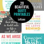 20 Gorgeous Printable Quotes | Free Inspirational Quote Prints   Free Printable Posters